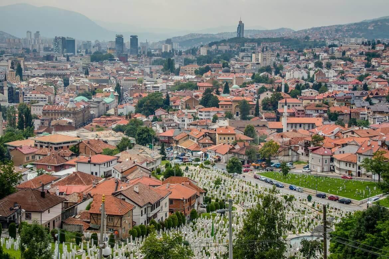 Sarajevo view