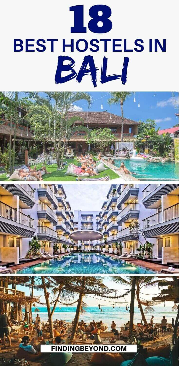 From party hostels to calm retreats with stunning views, keep reading to find the best hostels in Bali and even which town on the island is right for you!