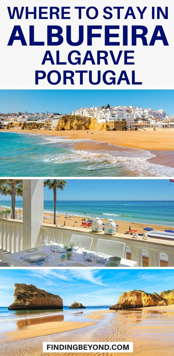 To help plan your Algarve vacation, here's a look at where to stay in Albufeira, Portugal with accommodation options in each area to suit all budgets.