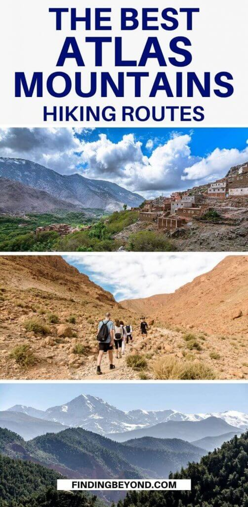 With the help of this best hikes in the Atlas Mountains guide, you can easily make your way over many vertigo-induced vistas on an unforgettable trek.