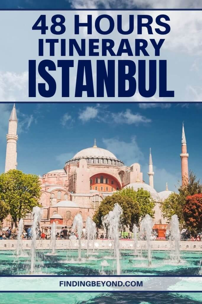 So you only have 48 hours in Istanbul? This is our recommended two days in Istanbul itinerary for what to see, where to eat, and heaps more!
