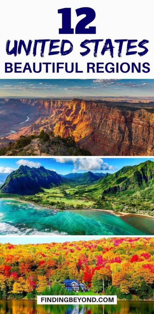 The U.S. has it all when it comes to different landscapes and climates. Enjoy a lifetime of exploration in the most beautiful regions in the United States.