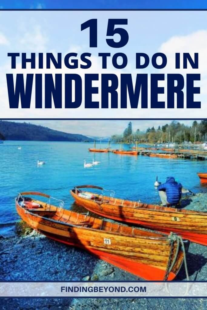 From hot air ballooning above the lakes to hiking for all levels, here are the 15 best things to do in Windermere, Lake District.