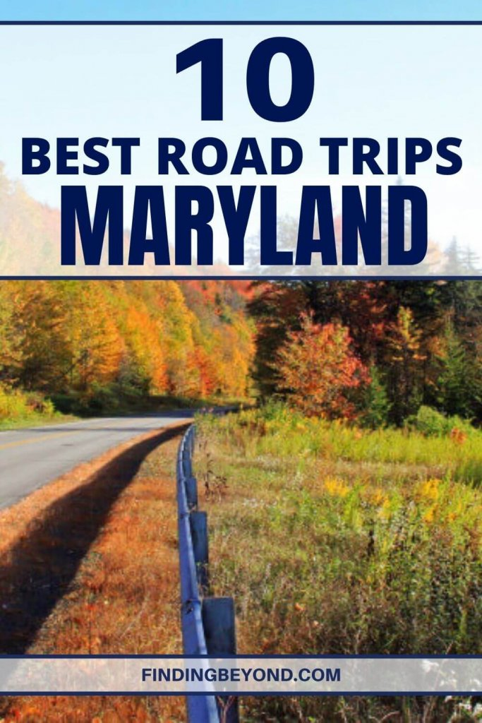 Spare the trouble of planning and buckle up, because we've compiled the eight best road trips in Maryland for you to choose from!