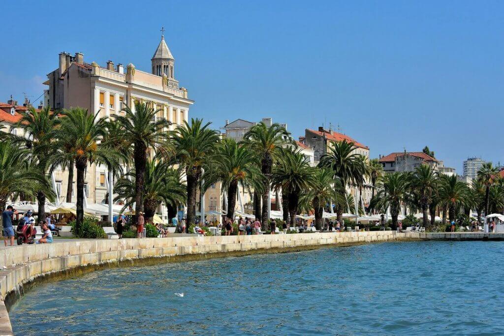 Croatia-Split-Promenade