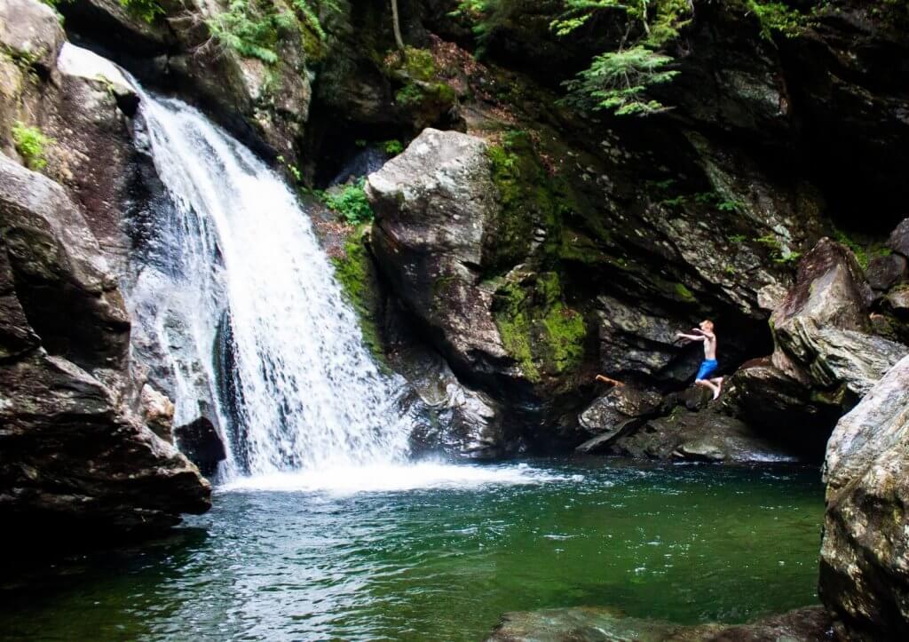 vermont waterfalls road trip